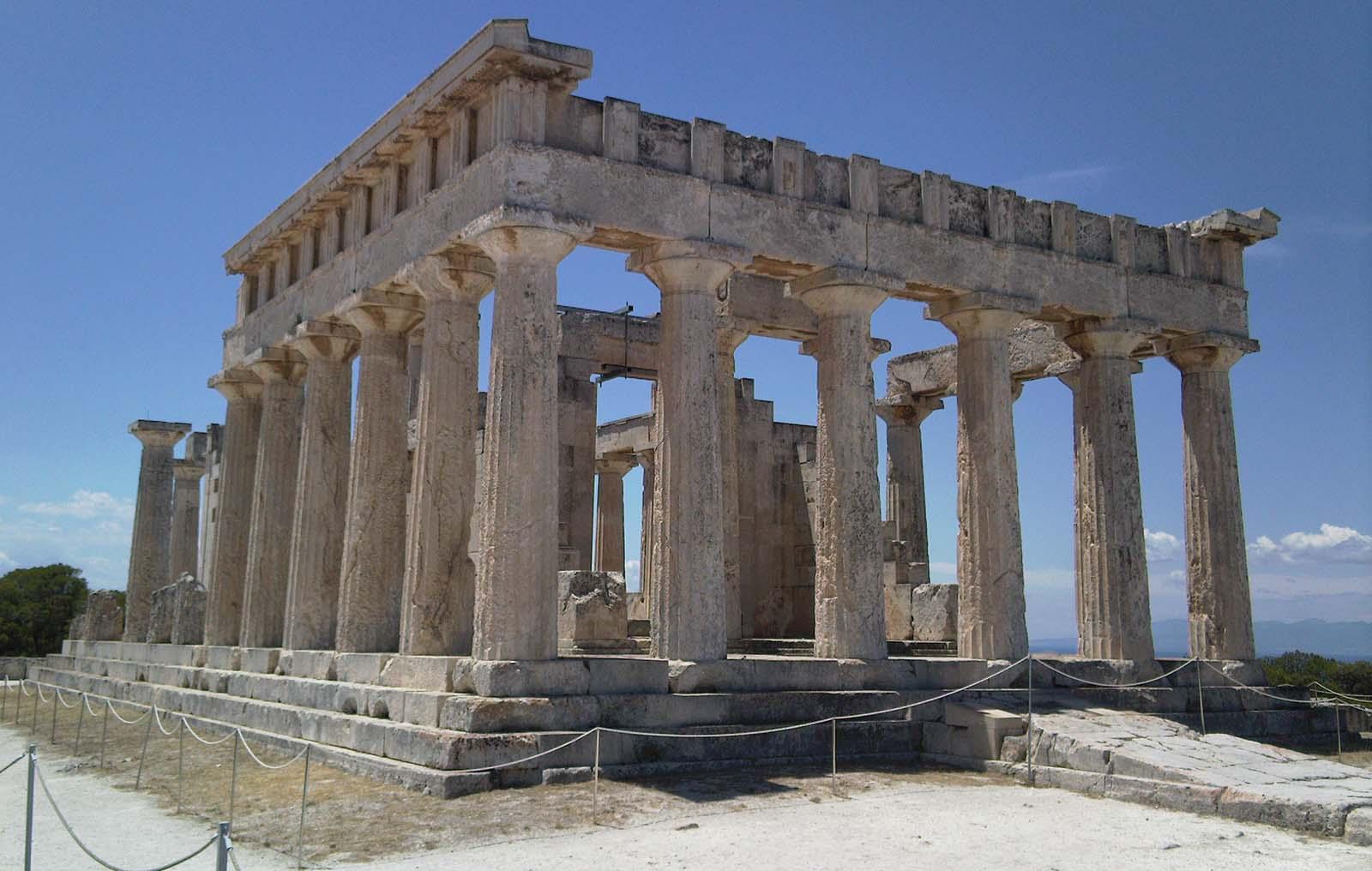 aegina temple of aphaia - Angelina Aegina Boutique Escape